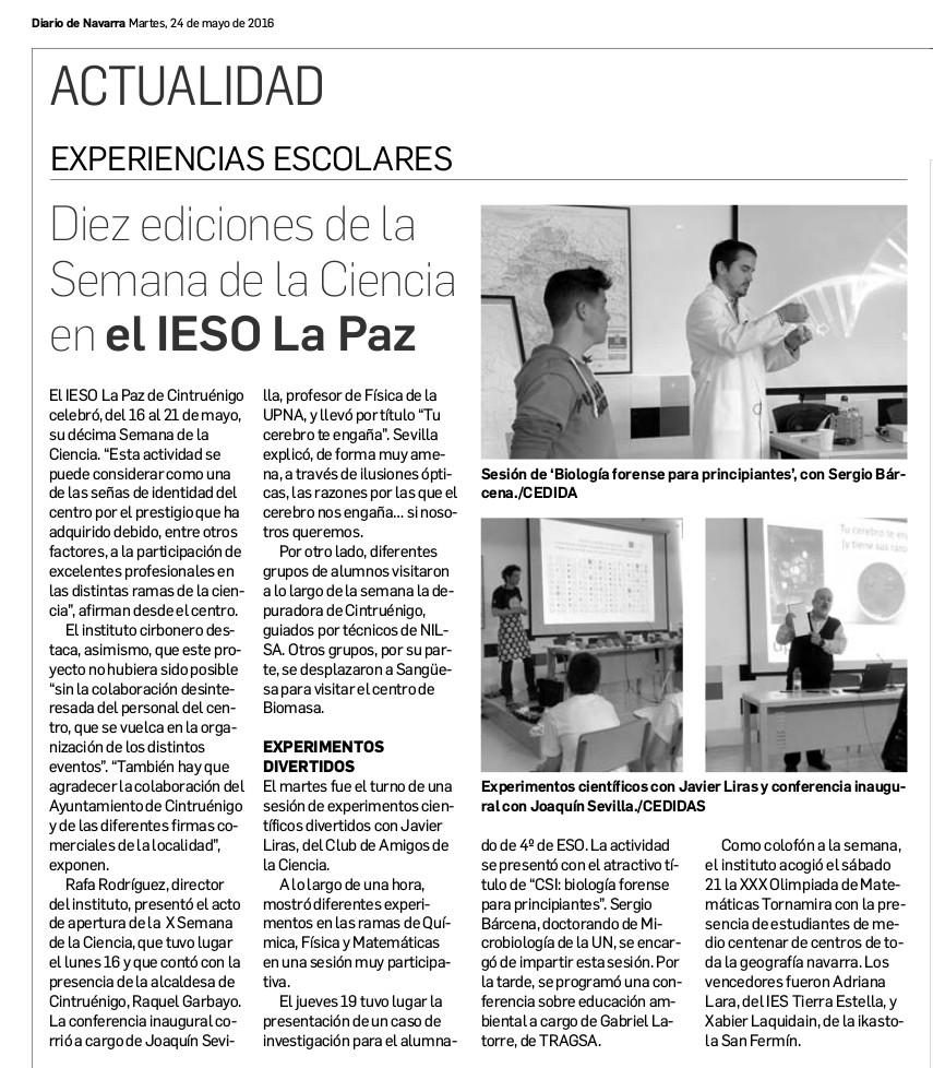 20160524 - Diario de Navarra - Diario Escolar - pag 39