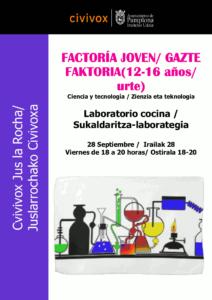 Un laboratorio en tu cocina: @ Civivox Jus la Rocha
